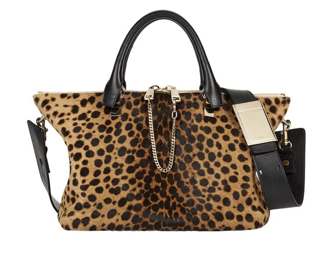 BAYLEE-Medium-Handbag-With-Removable-Strap-In-Savanna-Brown-Printed-Pony-like-Calfskin